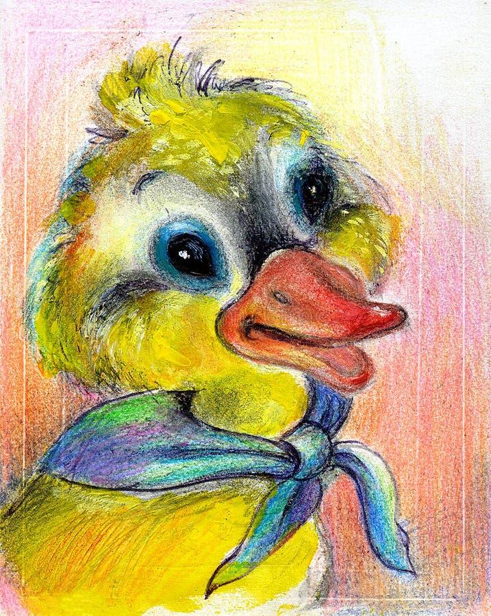 L'anatroccolo tirato royalty illustrazione gratis