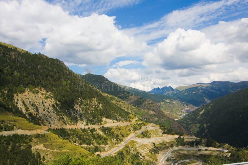 L'Andorra fotografia stock libera da diritti