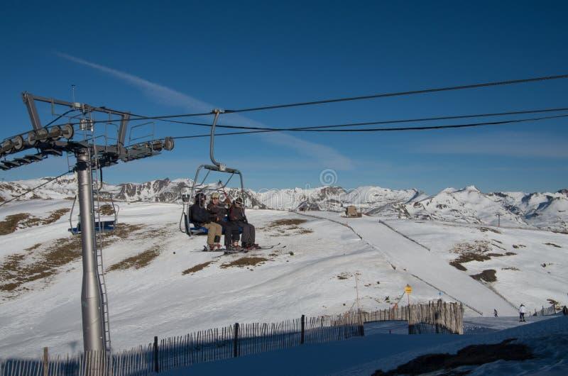 L'Andorre - ski photos libres de droits