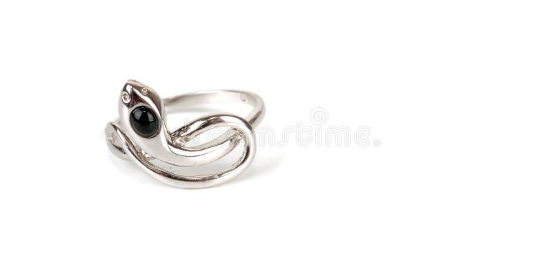 L'anello del serpente di bellezza fotografia stock