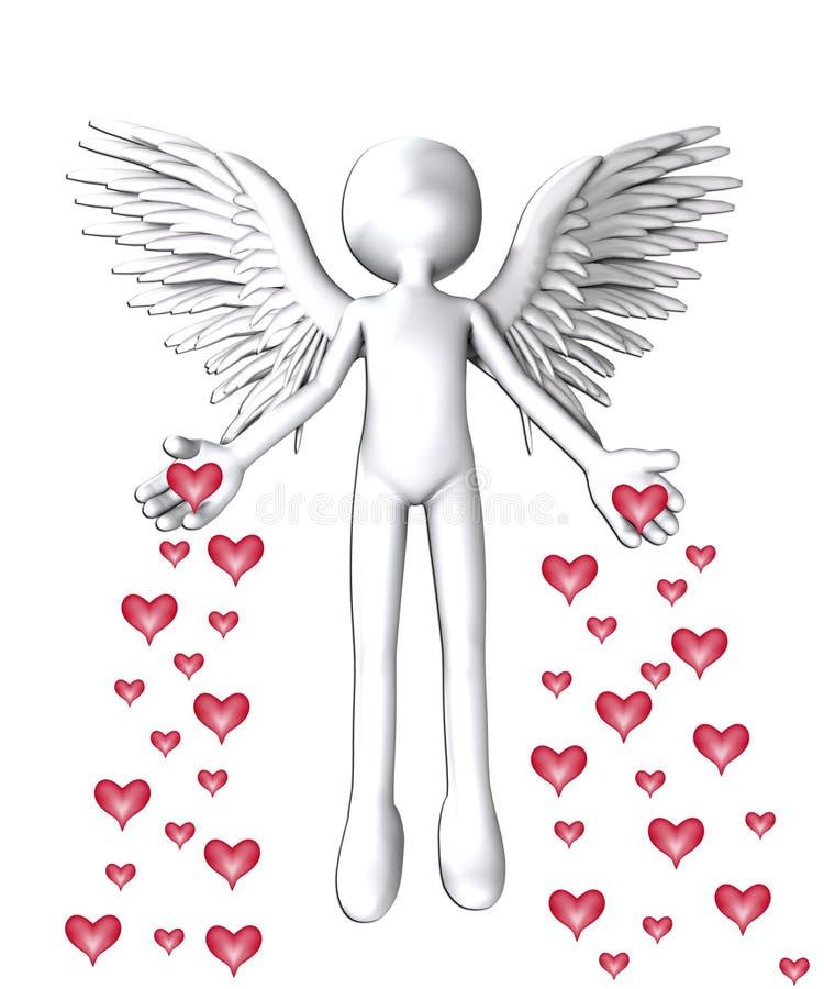 L Ange De L Amour Photo libre de droits