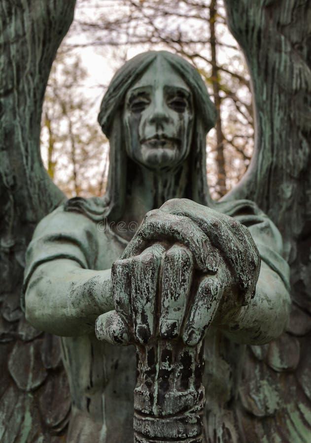 L'ange de la mort victorieux photos libres de droits