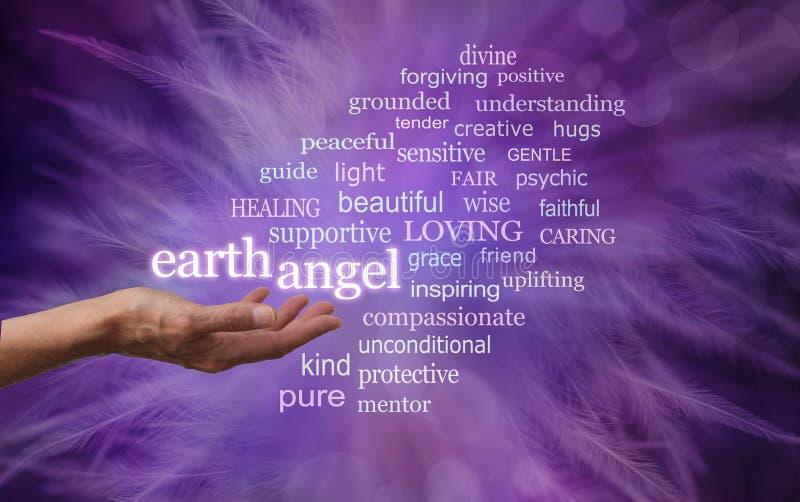 L'ange de la terre sont tout autour de vous images libres de droits