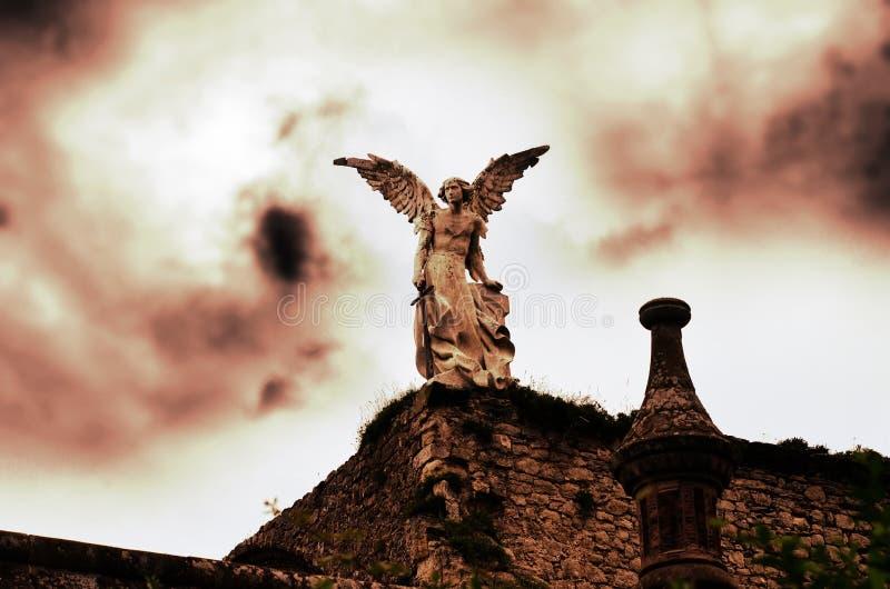 L'angelo fotografia stock