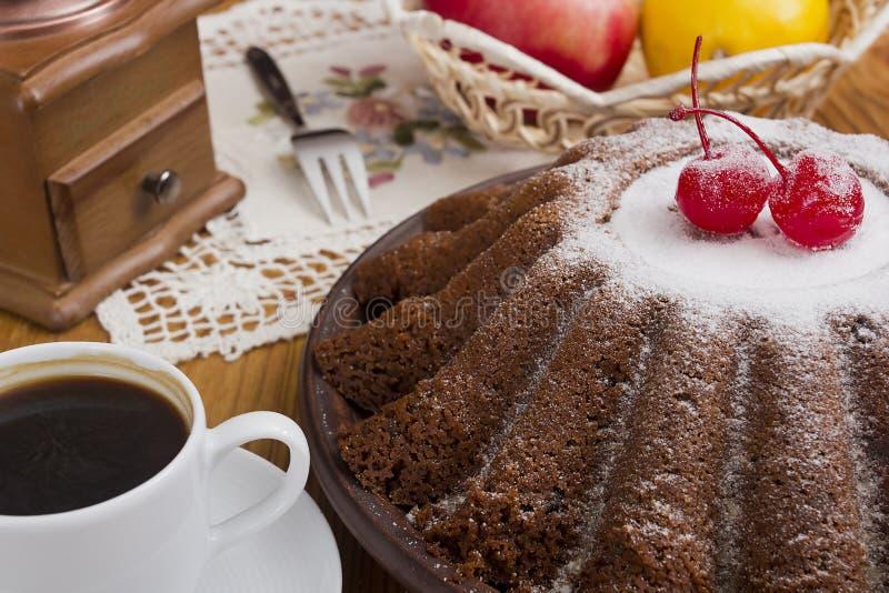 L'anglais de pudding de Noël photos stock