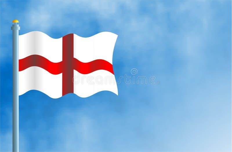 Download L'Angleterre illustration stock. Illustration du ciel, nationalité - 65634