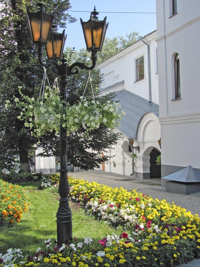 L'angolo del monastero fotografia stock