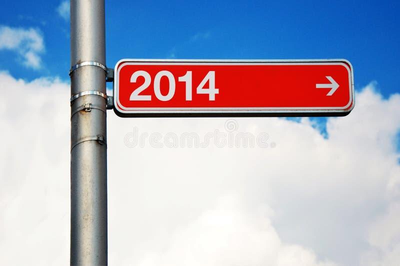 L'année prochaine photo stock