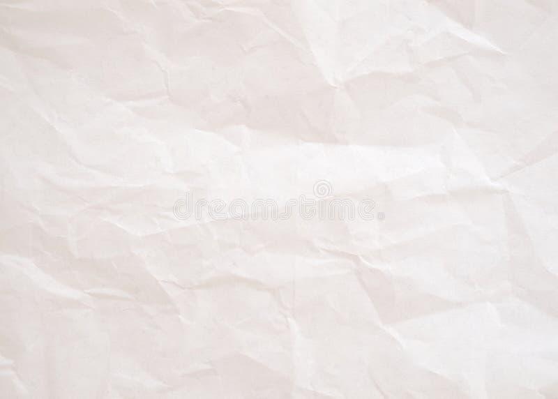 L'annata è Libro Bianco sgualcito fotografia stock libera da diritti