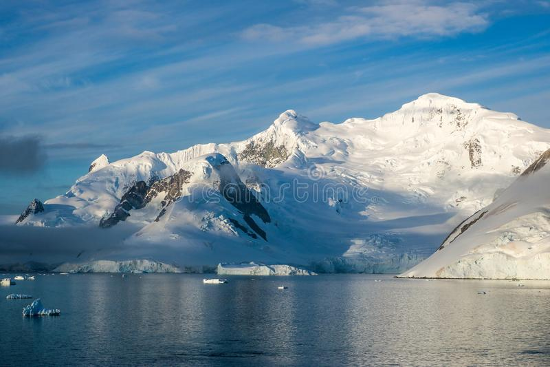 L'Antarctique en hiver photo stock