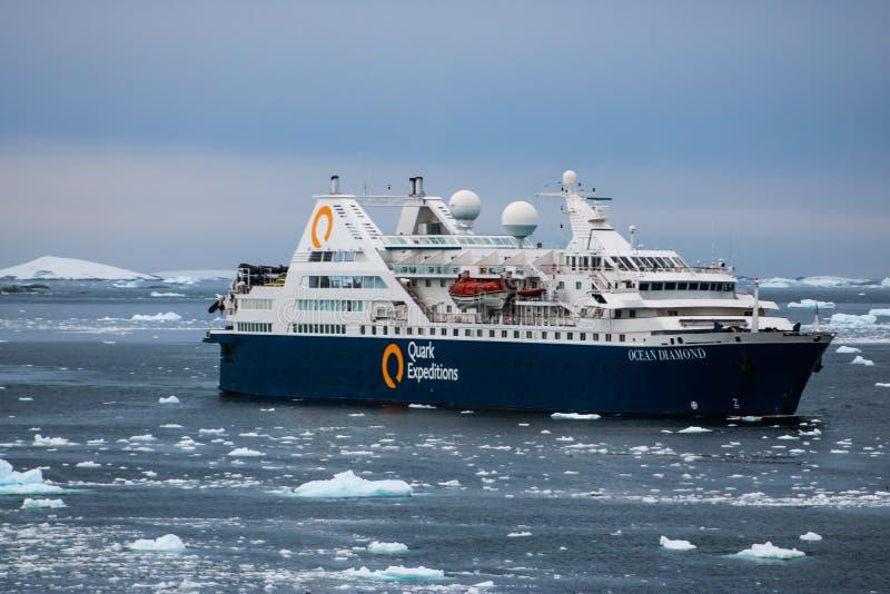 L'Antarctique en hiver photographie stock