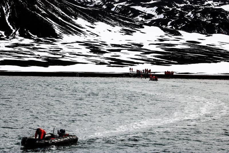 L'Antarctique en hiver photographie stock libre de droits