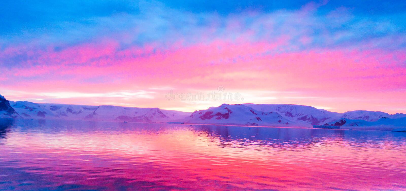 L'Antarctique en hiver photo libre de droits