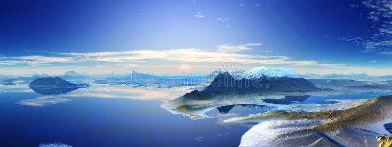 L'Antartide fotografia stock libera da diritti