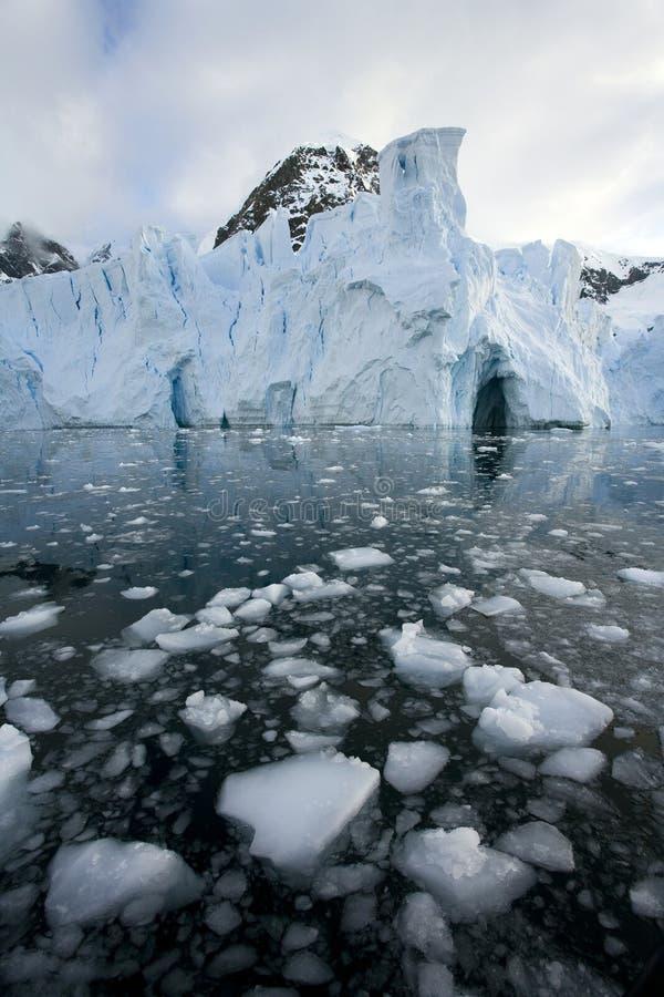 L'Antartide - ghiacciaio di Petzval fotografia stock libera da diritti