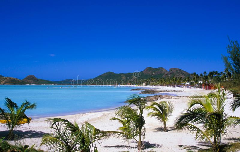 L'Antigua, des Caraïbes photo stock