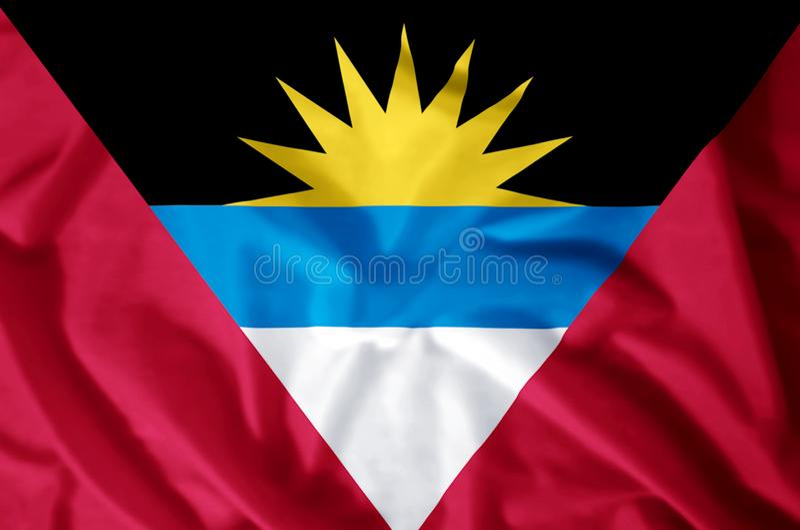l'Antigua et le Barbuda illustration stock