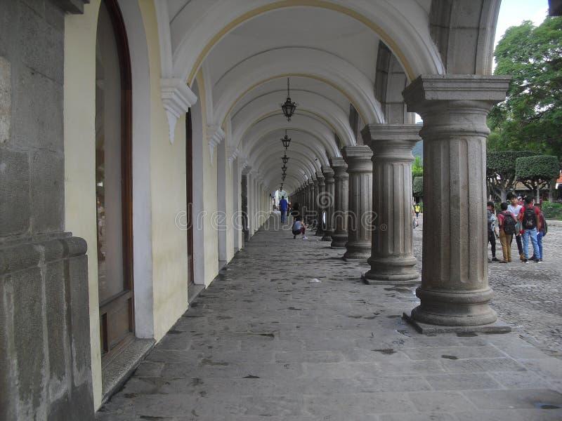 L'Antigua Guatemala la ville coloniale située dans Sacatepequez, Guatemala, Amérique Centrale 9 photo stock