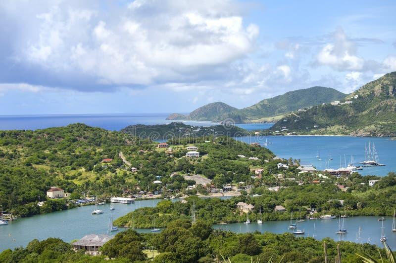 L'Antigua Shoreline photographie stock libre de droits
