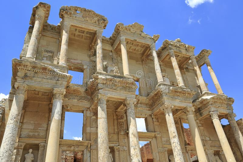 L'antique de la ville d'Efes, Turquie photos libres de droits