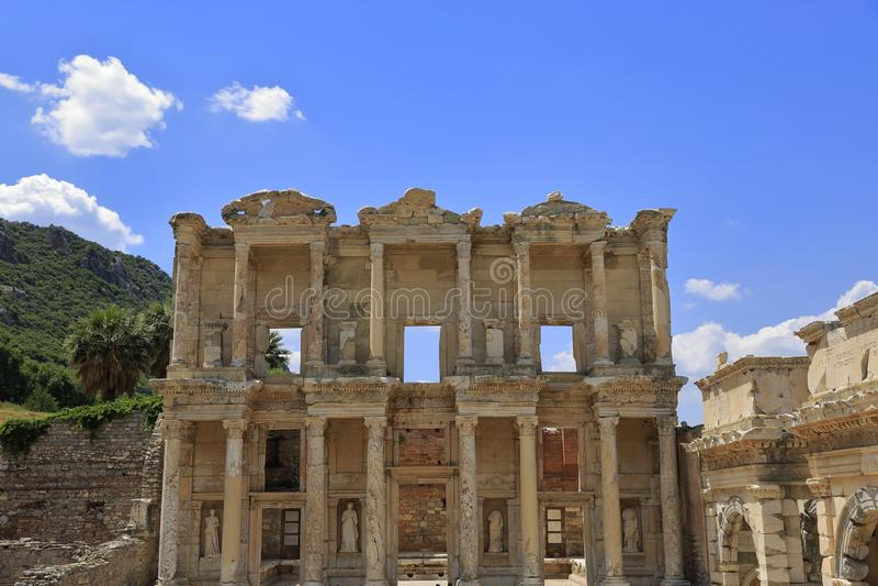 L'antique de la ville d'Efes, Turquie photo libre de droits