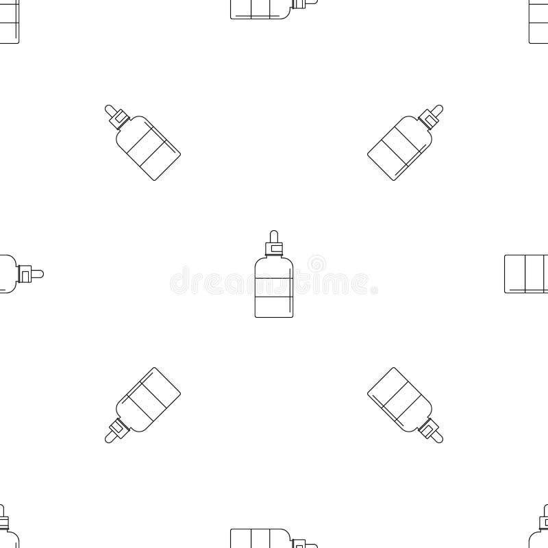 L'ape cade l'icona, stile del profilo illustrazione vettoriale