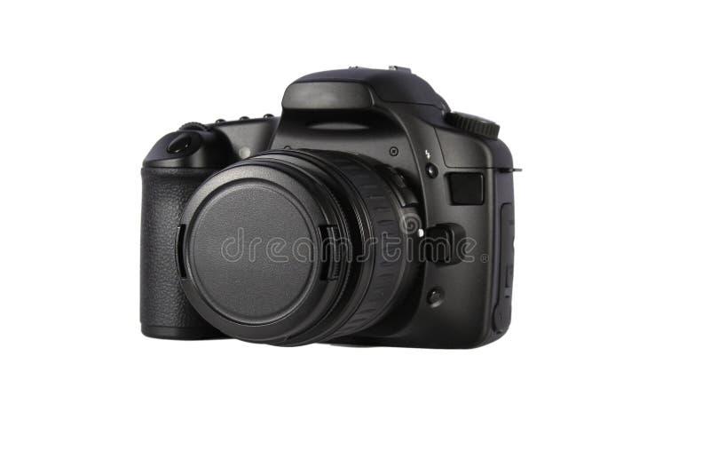 L'appareil-photo SLR a isolé photos stock
