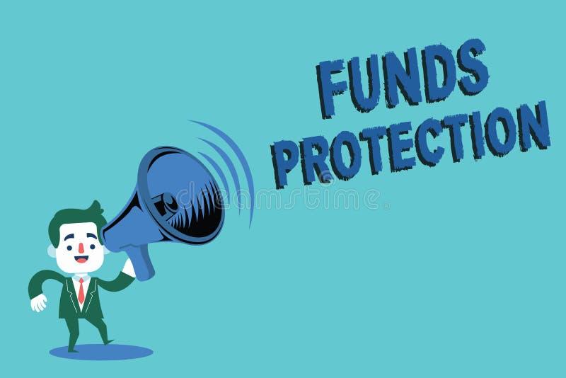 L'apparence de note d'écriture finance la protection Les promesses de présentation de photo d'affaires renvoient l'investissement illustration stock