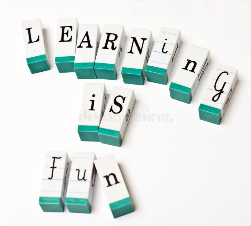 L'apprentissage est amusement photos libres de droits