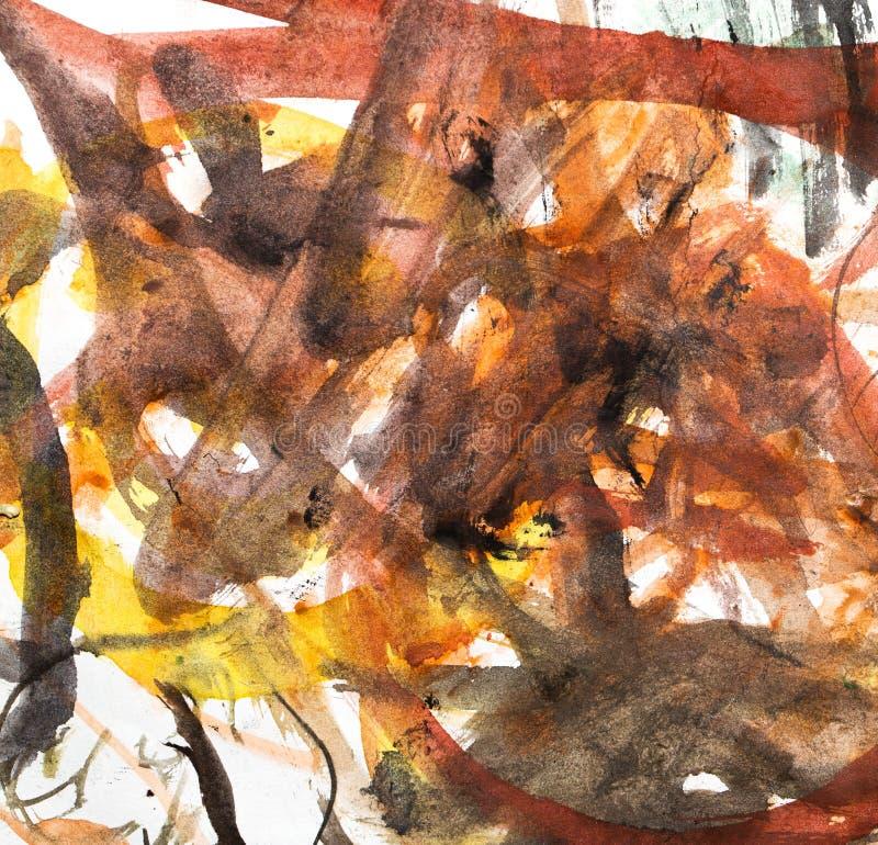 L'aquarelle abstraite aiment le fond illustration de vecteur