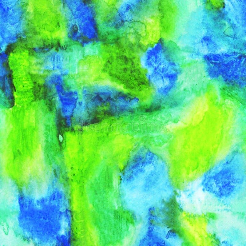 L'aquarelle de texture éclabousse et souille pour le fond illustration de vecteur