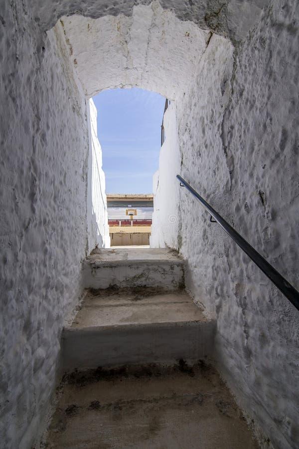 L'arène de Cabra c'est l'arène la plus ancienne dans la province de Cordoue image libre de droits