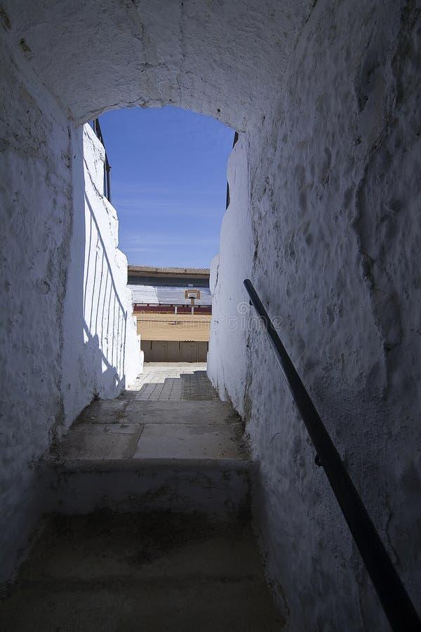 L'arène province de Cabra, Cordoue, Andalousie, Espagne images libres de droits