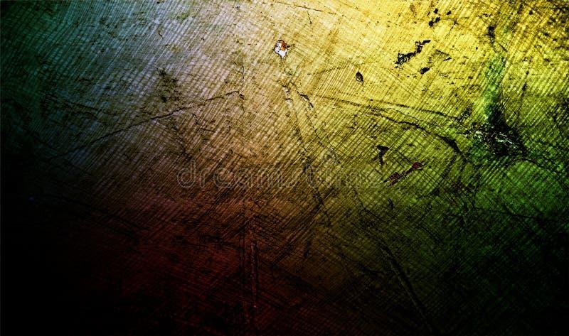 L'arc-en-ciel abstrait colore le fond texturisé ombragé de mur texture grunge de papier de fond Papier peint de fond illustration stock