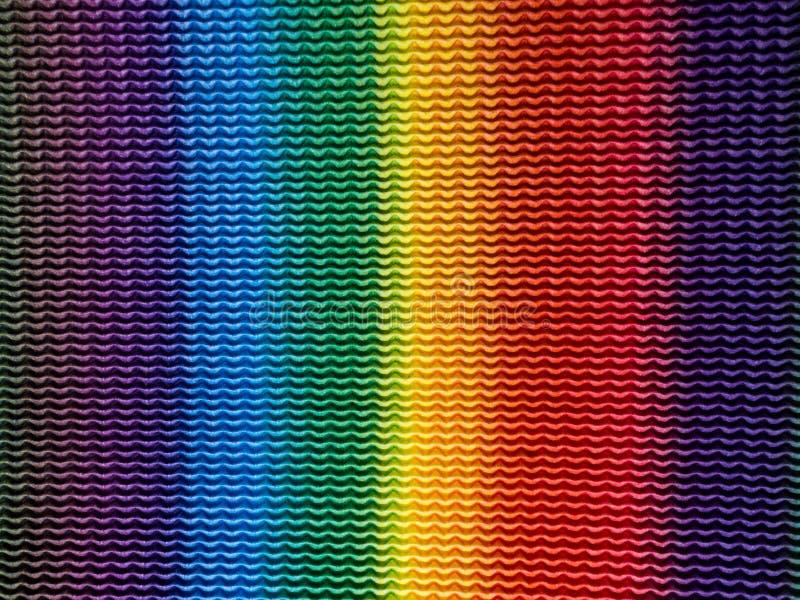 L'arc-en-ciel raye le fond coloré photographie stock libre de droits