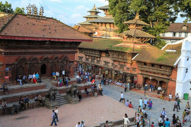 Download L'architecture Dans La Place Durbar De Katmandou Au Népal Image stock éditorial - Image du culturel, architecture: 45364404