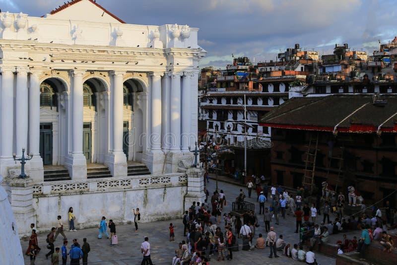Download L'architecture Dans La Place Durbar De Katmandou Au Népal Image stock éditorial - Image du palais, course: 45364459