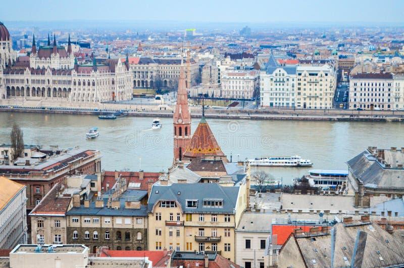 L'architecture de la Hongrie photographie stock