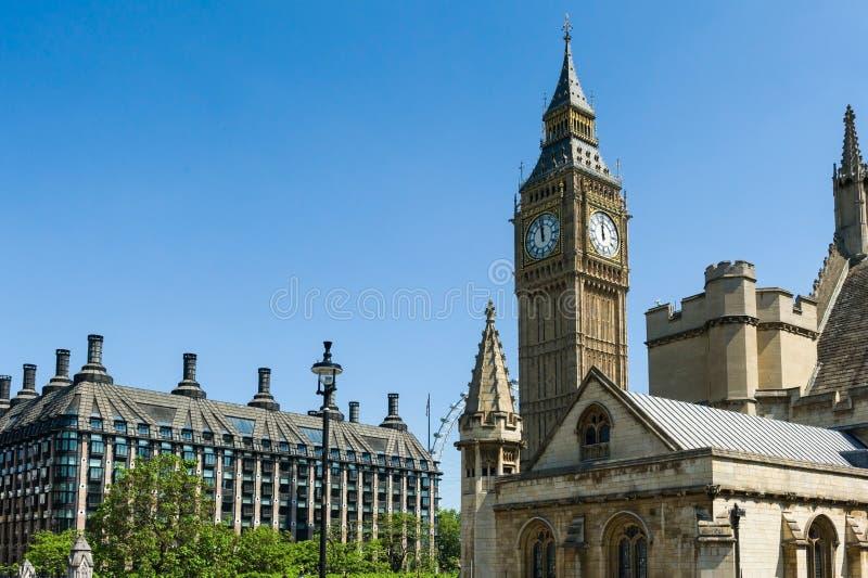 L'architecture de Londres photographie stock libre de droits