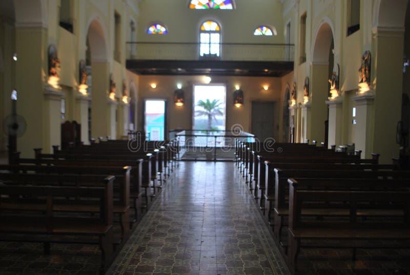 L'architecture de religion d'église ruine le Brésil photos libres de droits