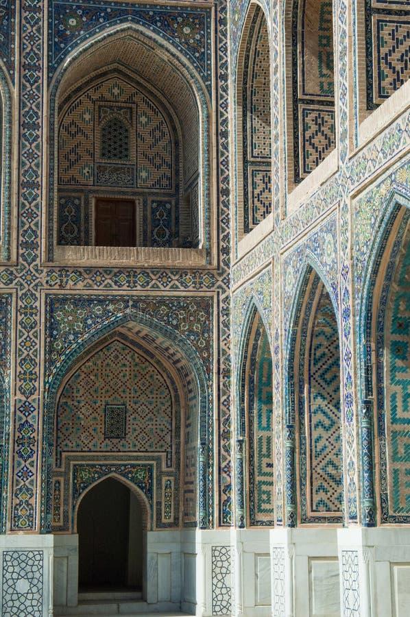 L'architecture de Samarkand antique image stock
