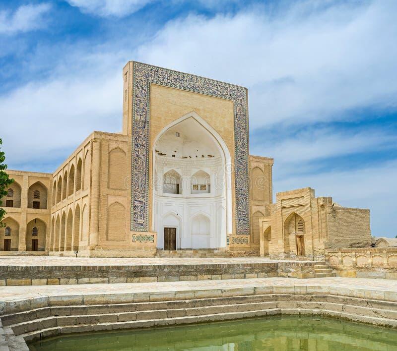 L'architecture religieuse d'Ouzbékistan photographie stock libre de droits
