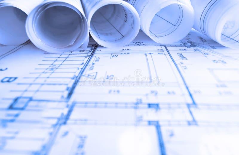 l 39 architettura rotola l 39 architetto del progetto di piani