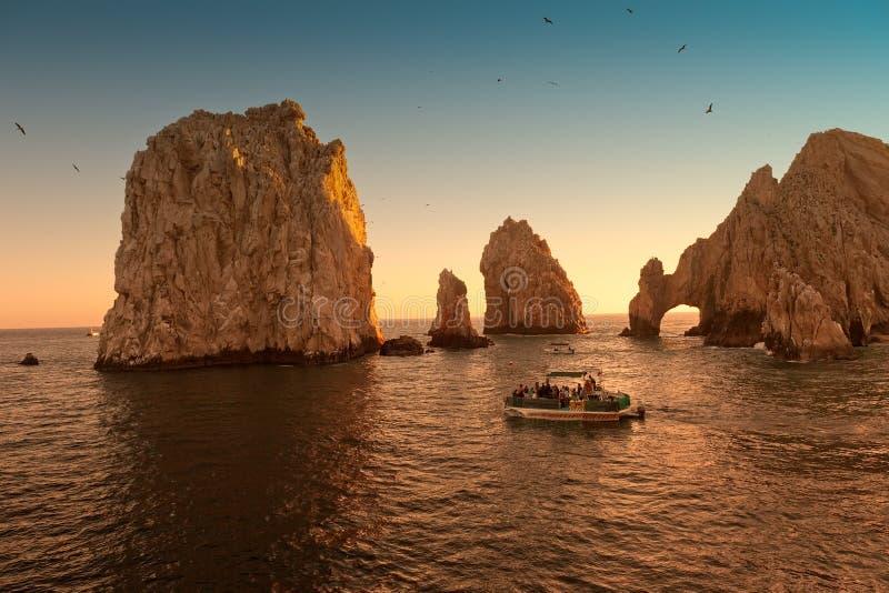 L'arco a Cabo San Lucas, Messico fotografia stock
