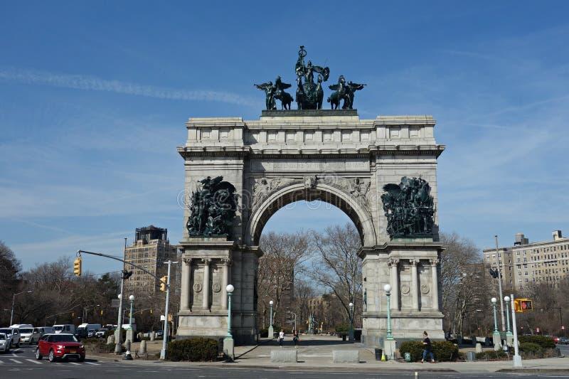 L'arco commemorativo dei marinai e dei soldati immagine stock libera da diritti