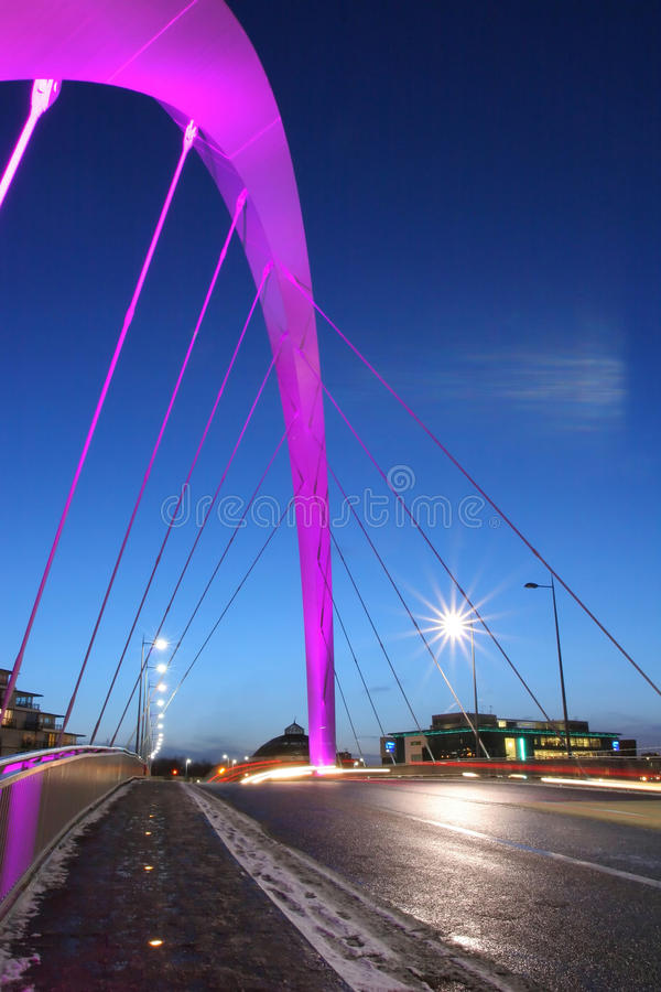 L'arco di Glasgow immagini stock libere da diritti