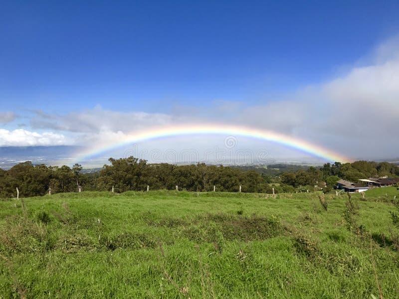 L'arcobaleno è il mio più grande momento immagini stock libere da diritti