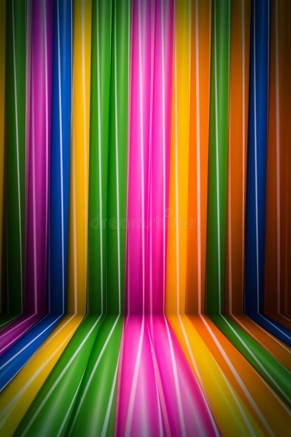 L'arcobaleno allinea il fondo variopinto immagini stock libere da diritti