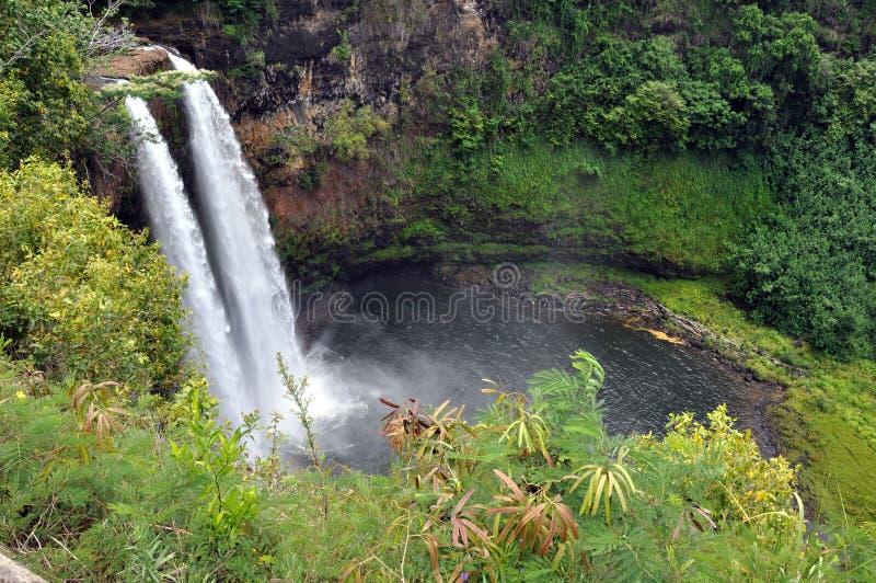 L Arcobaleno Cade (grande Isola, Hawai) Immagine Stock