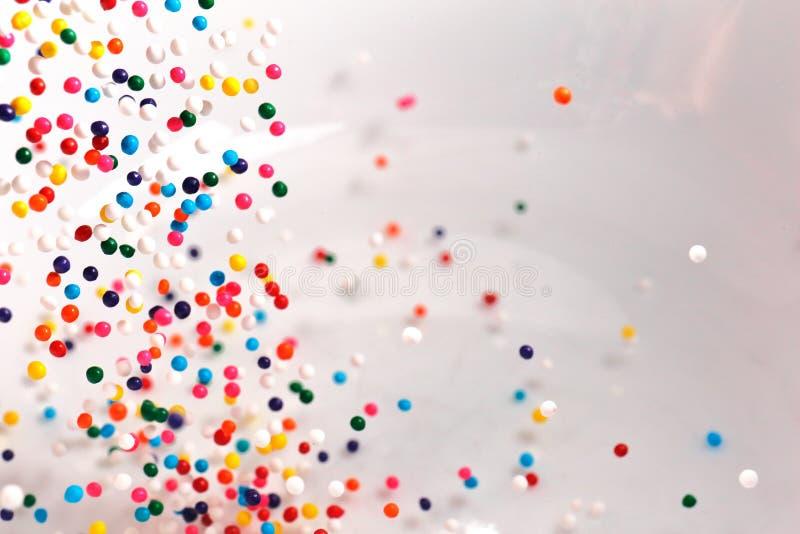 L'arcobaleno spruzza fotografia stock libera da diritti